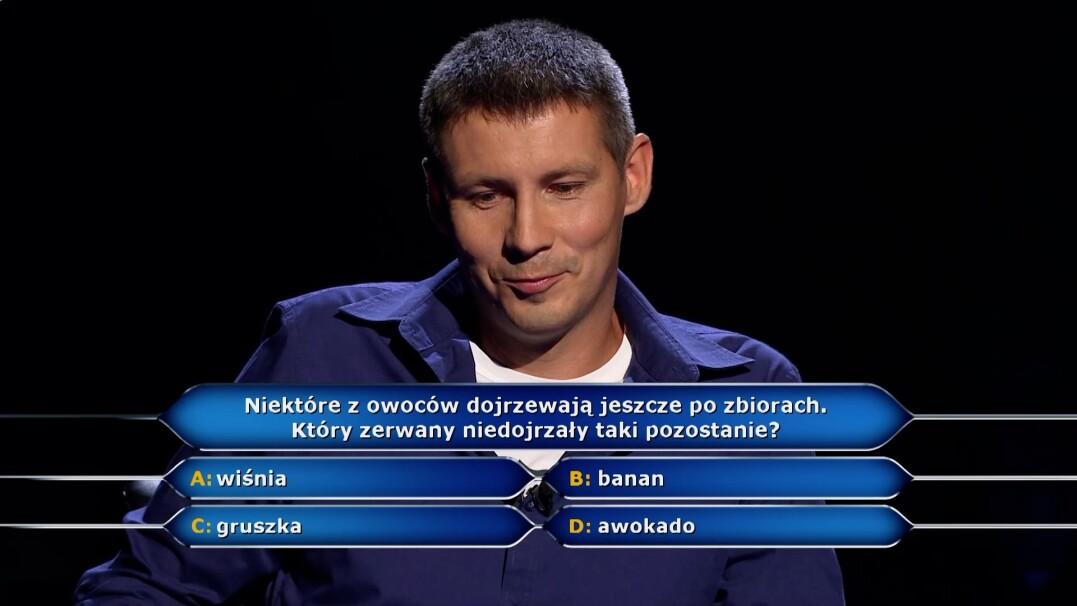 """W """"Milionerach"""" padło pytanie za milion złotych"""