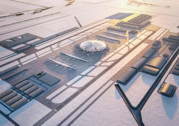 Koncepcja biura projektowego Chapman Taylor Centralny Port Komunikacyjny