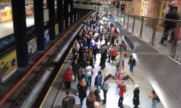 Stacja metra Centrum (zdjęcie ilustracyjne) Archiwum tvnwarszawa.pl