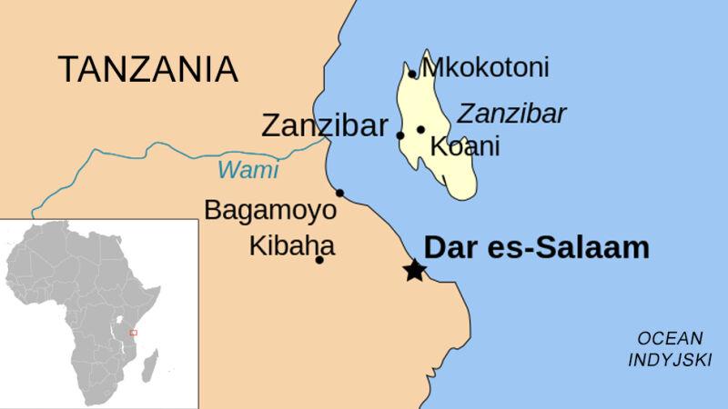 Zanzibar to wyspa na Oceanie Indyjskim, która w całości należy do Tanzanii