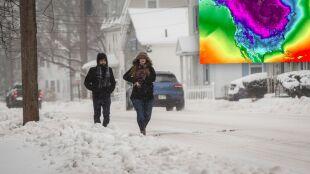 Zakłócenia w wirze polarnym. W USA szykuje się potężna zima, a co u nas?