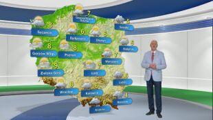 Prognoza pogody na poniedziałek 23.11