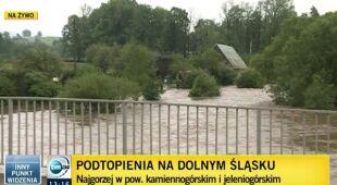 Marciszów: ludzie odmawiają ewakuacji (TVN24)