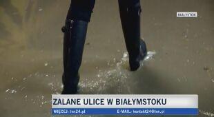 W Białymstoku woda zalała garaż podziemny